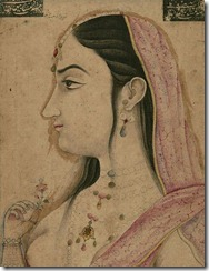 461px-Indian_-_Single_Leaf_of_a_Portrait_of_Lal_Kunwar_-_Walters_W712_-_Detail