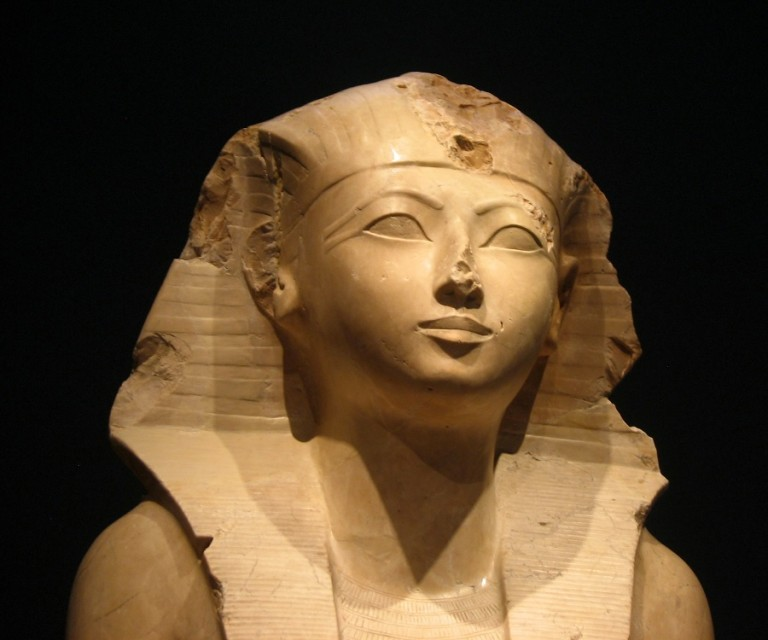 """a history of the reign of hatshepsut the first known female pharaoh Queen hapshepsut was the first female pharaoh, but she ruled """"although for most of her reign hatshepsut was depicted with the (also known."""